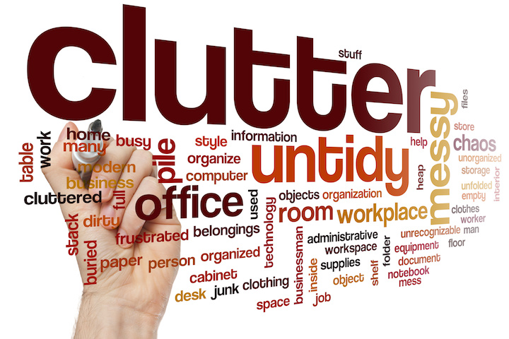 The definition of clutter and why you should get rid of it